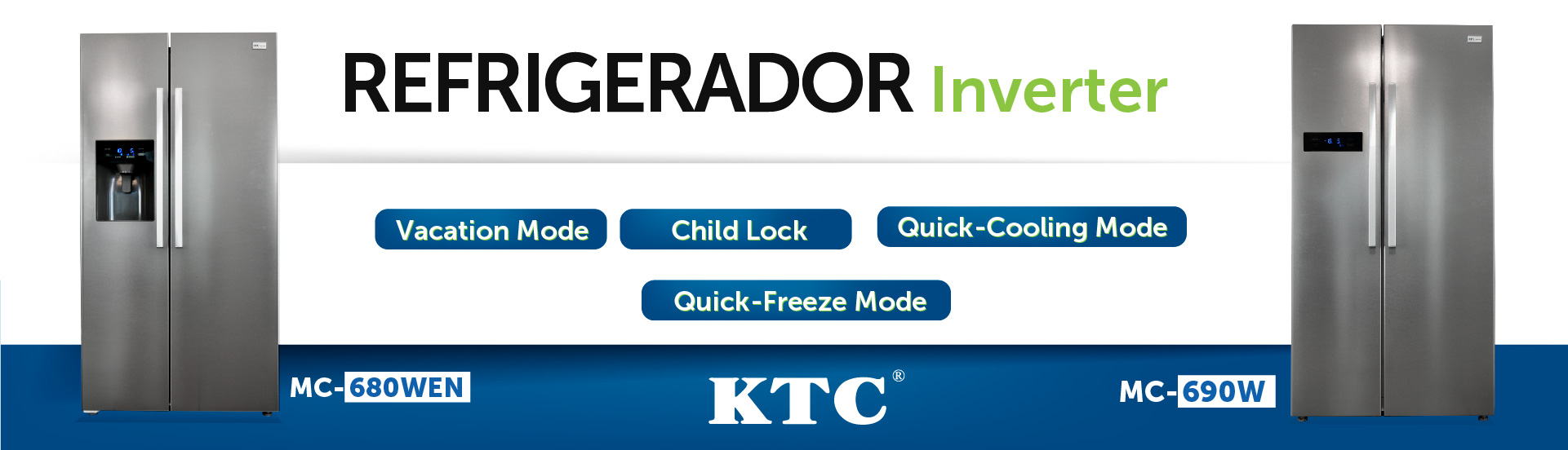 Refrigerador HC689WE