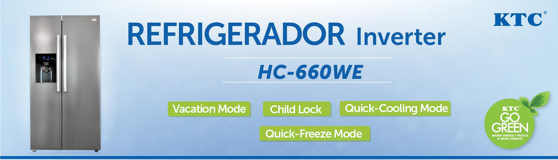 Refrigerador HC660we